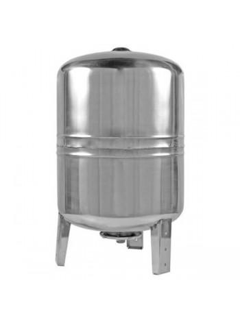 Гидроаккумулятор нержавеющий для воды Euroaqua 80L вертикальный