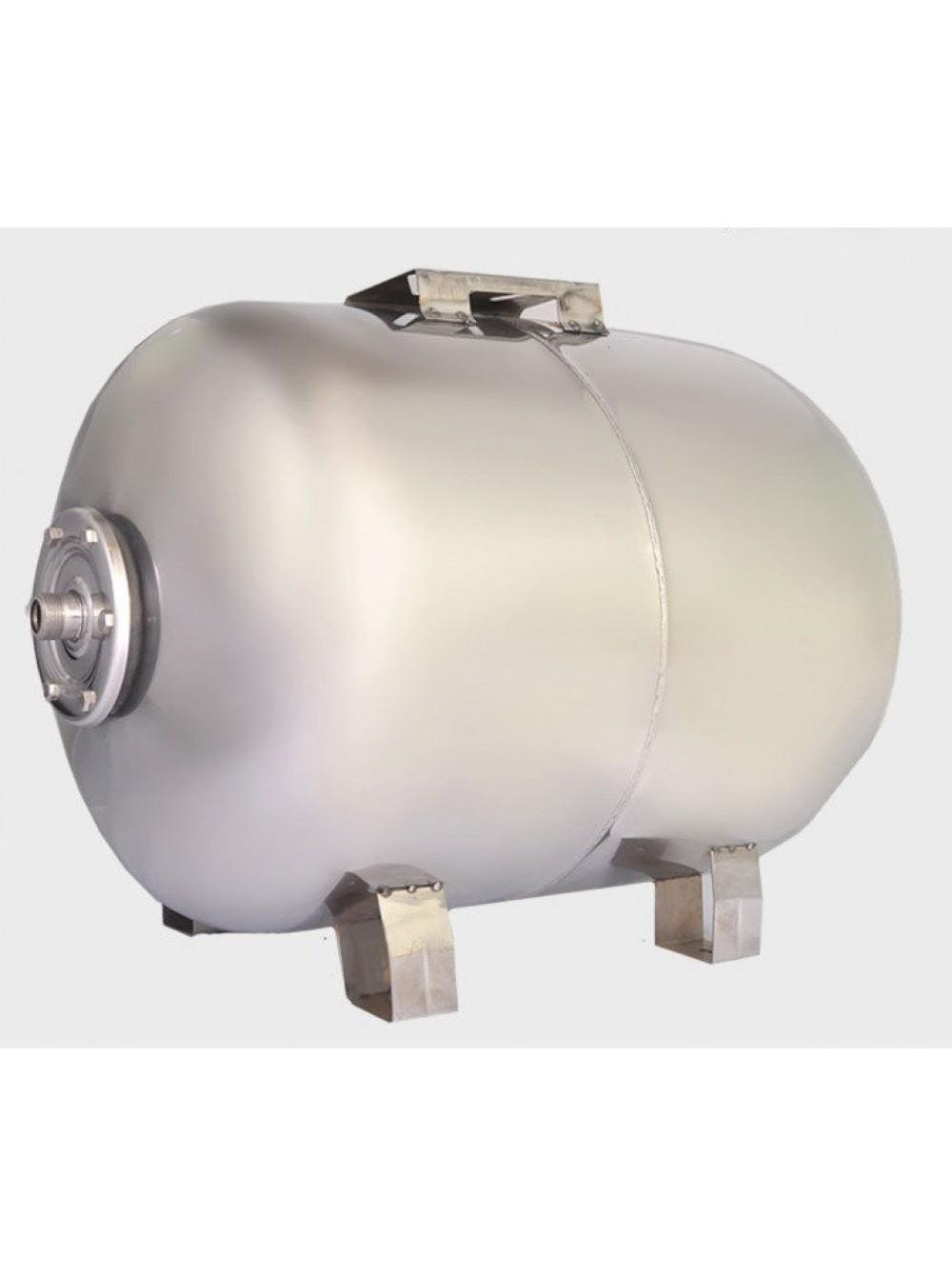 Гидроаккумулятор нержавеющий для воды Euroaqua 100L горизонтальный цена