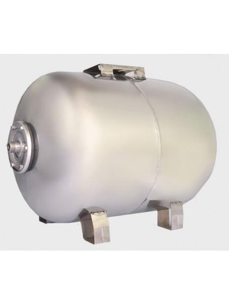 Гидроаккумулятор нержавеющий для воды Euroaqua 100L горизонтальный