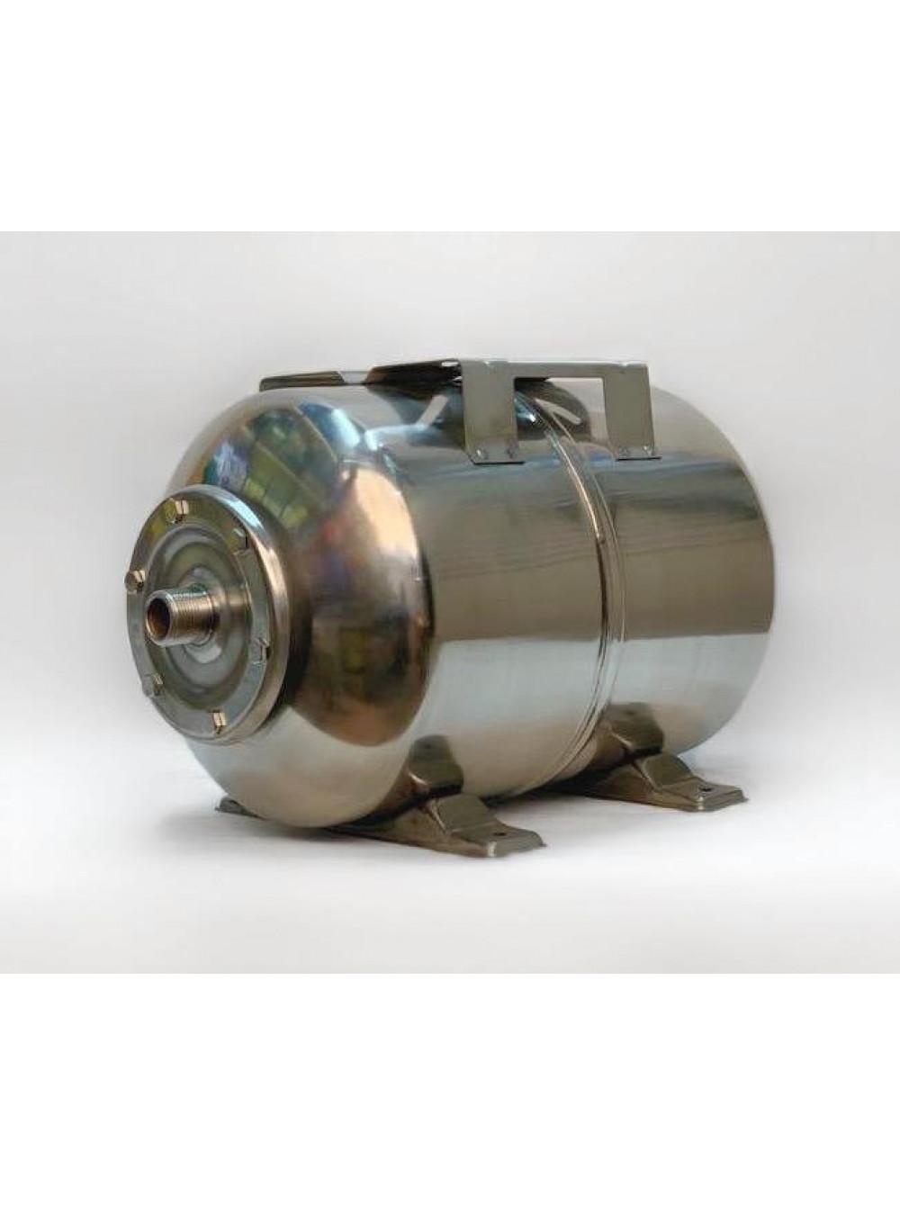 Гидроаккумулятор нержавеющий для воды Euroaqua 24L горизонтальный цена