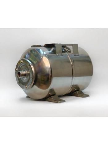 Гидроаккумулятор нержавеющий для воды Euroaqua 24L горизонтальный