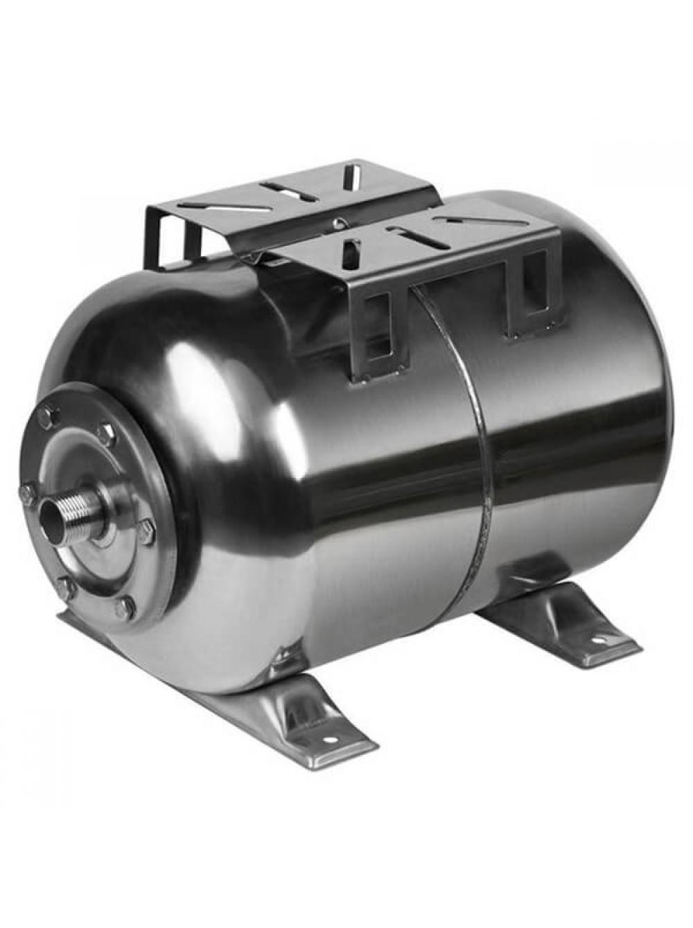 Гидроаккумулятор нержавеющий для воды Euroaqua 50L горизонтальный цена