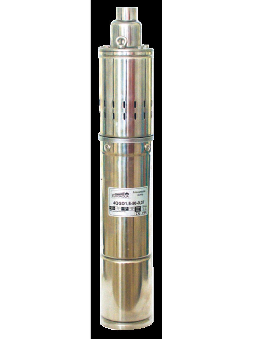 Насос шнековый Euroaqua 4 QGD 1,5-100-0,75 кВт цена