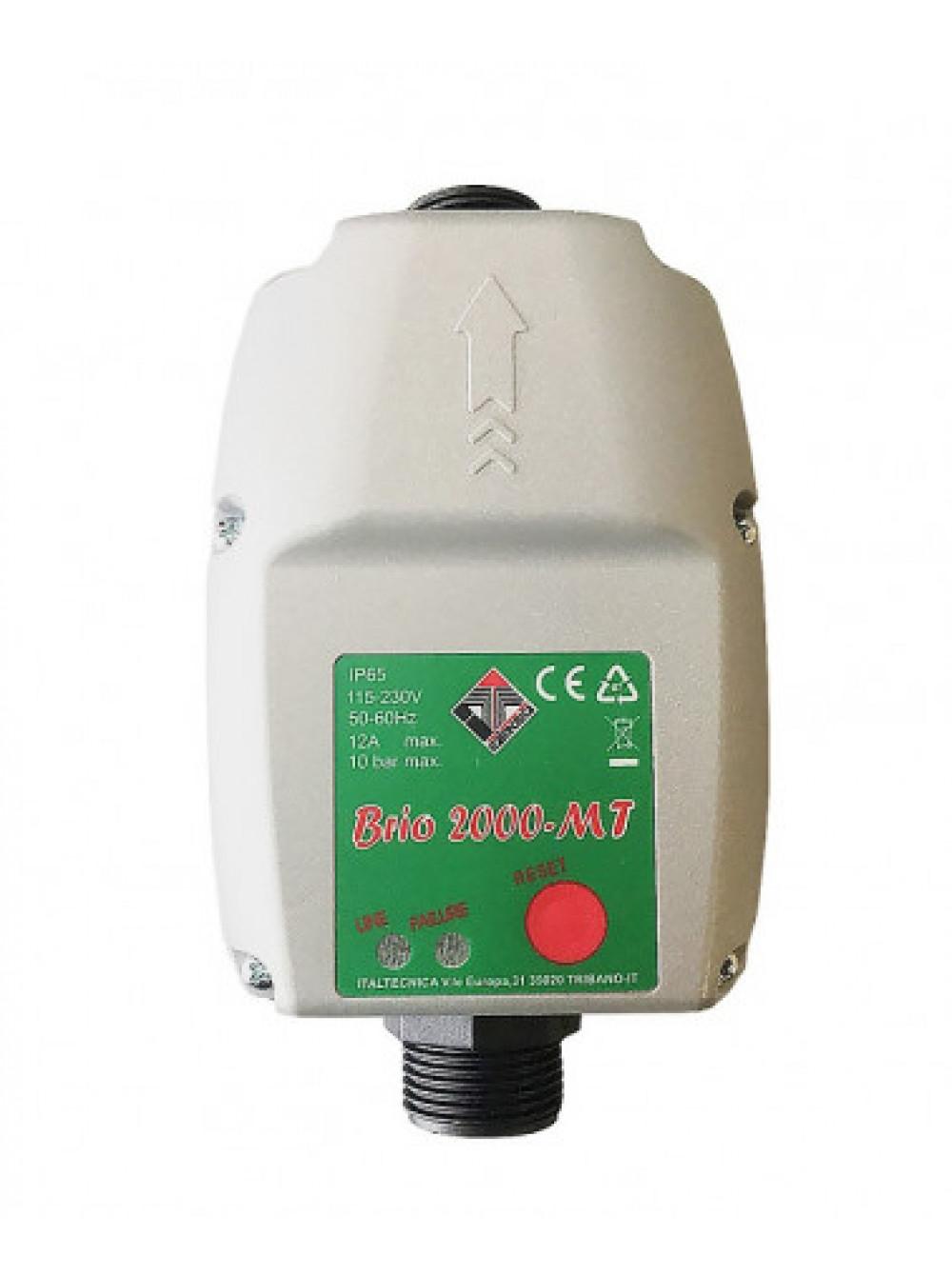 Электронное реле давления автоматика BRIO 2000-MT Italtecnica цена