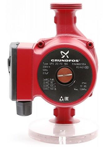 Циркуляционный насос для отопления Grundfos UPS 25/70-180 Оригинал