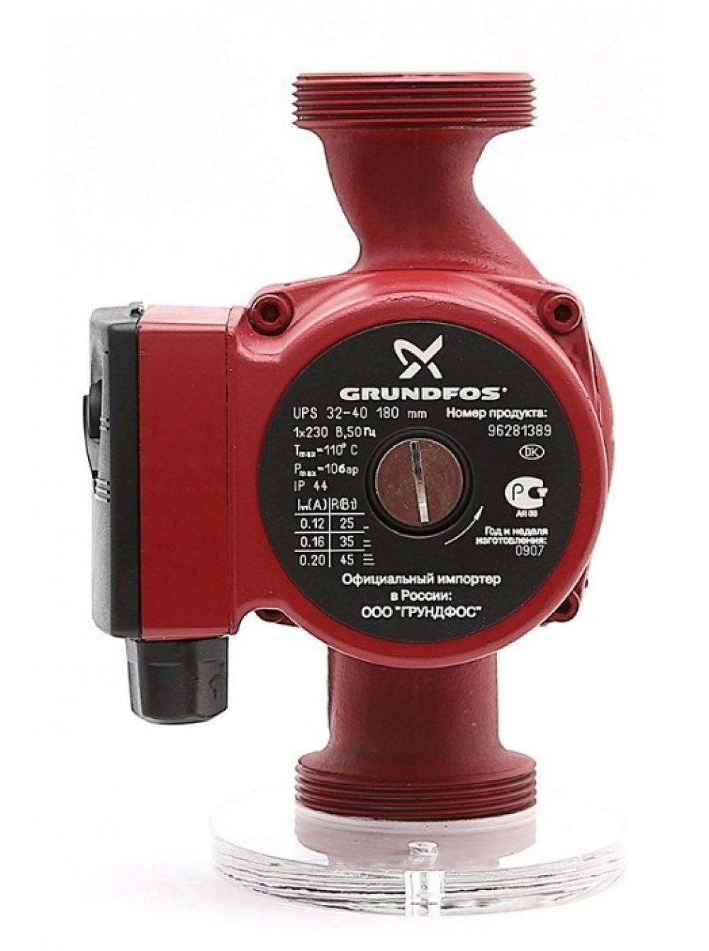 Циркуляционный насос для отопления Grundfos UPS 32/40-180 Оригинал цена