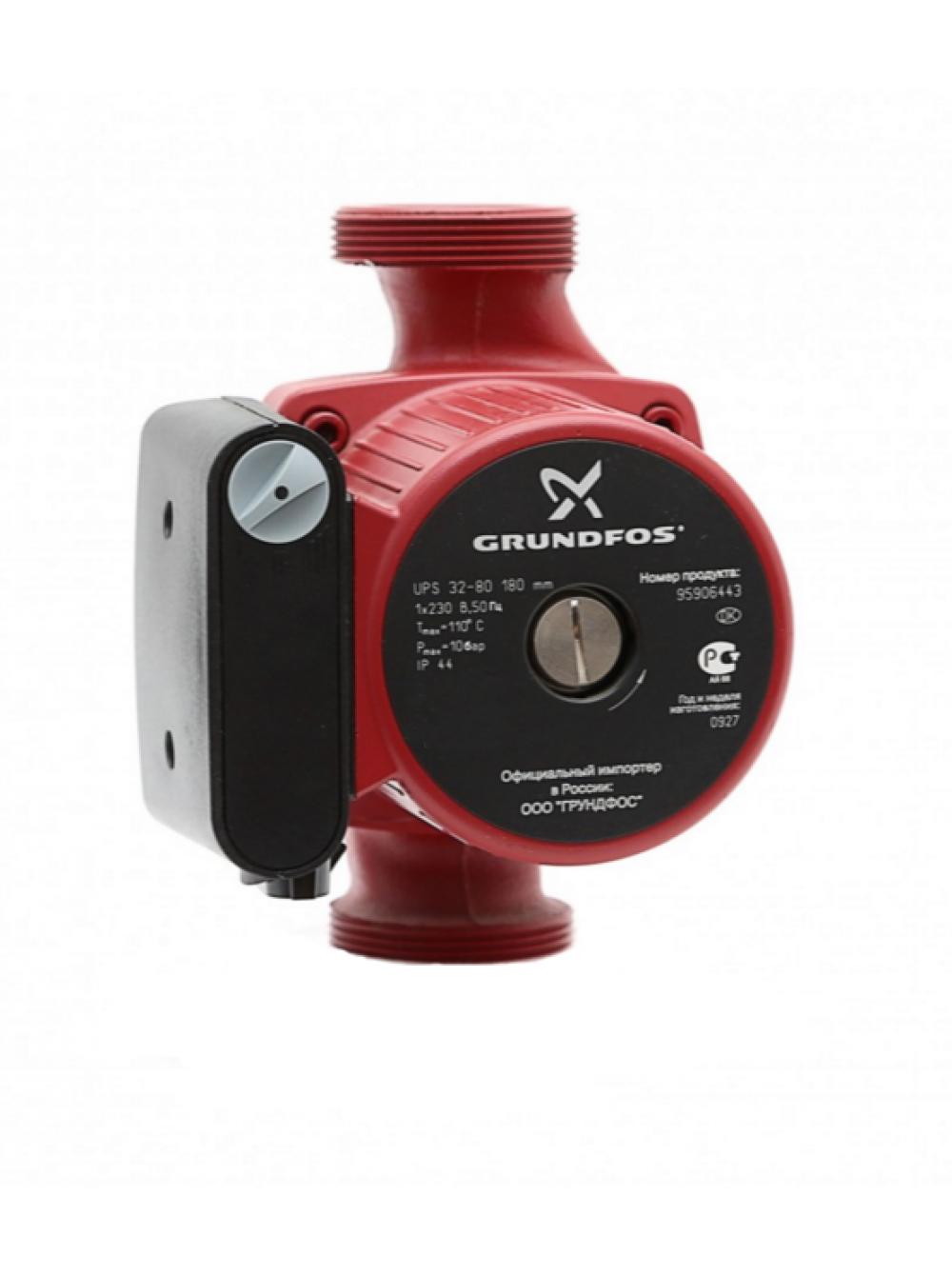 Циркуляционный насос для отопления Grundfos UPS 32/80-180 Оригинал цена