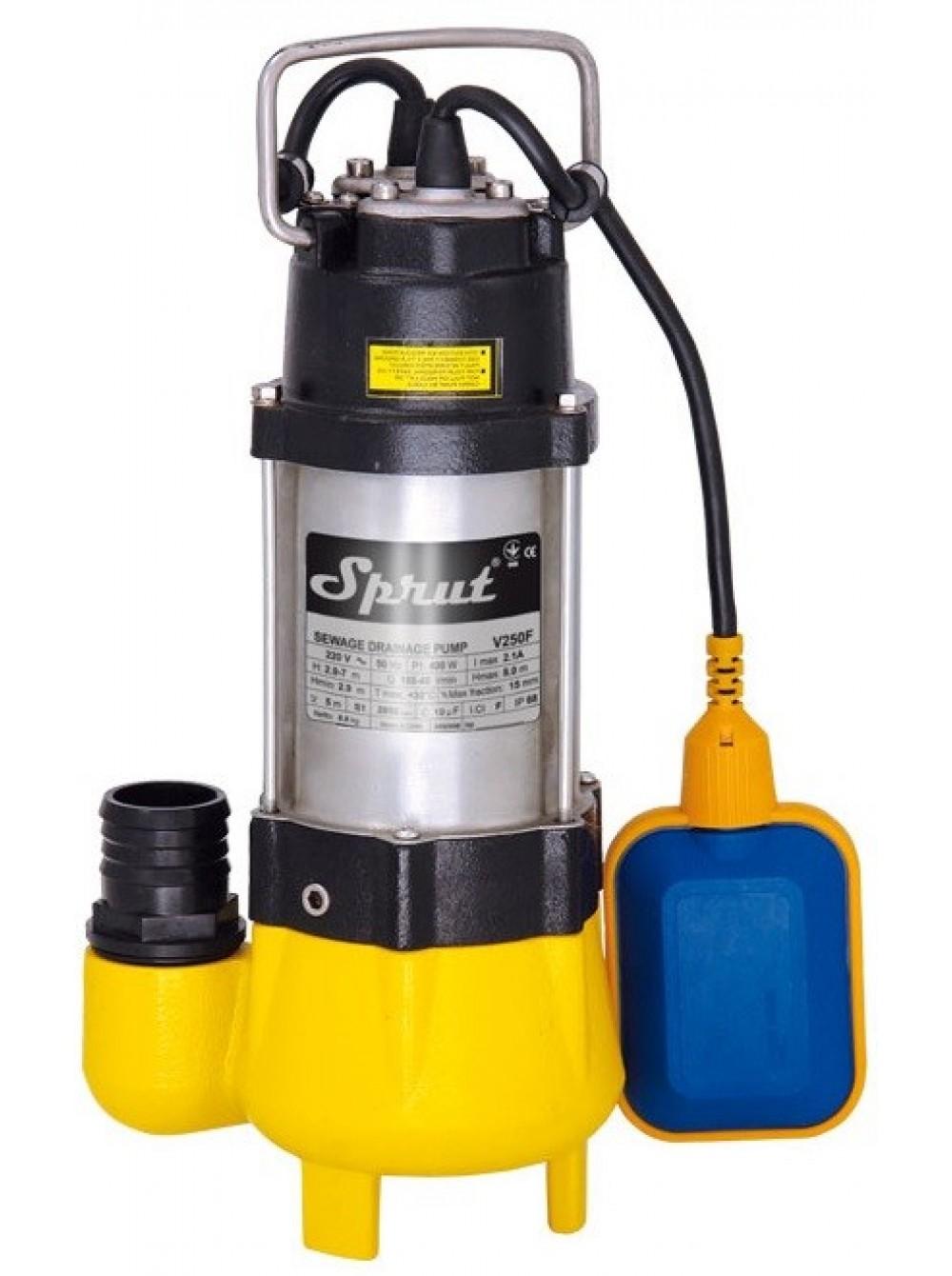Фекальный насос Sprut V250F цена