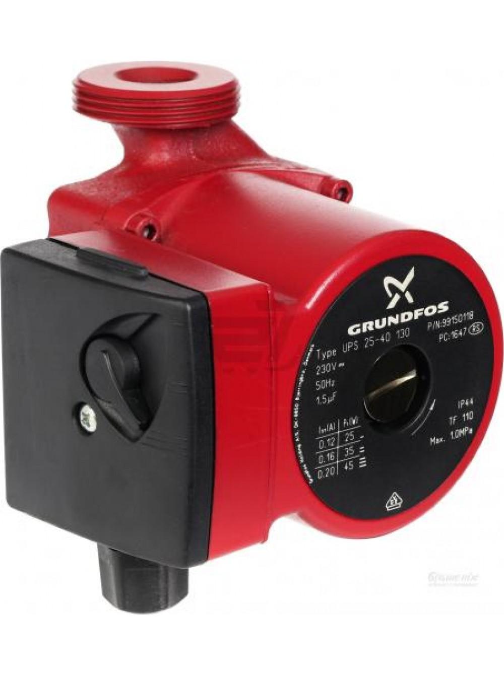 Циркуляционный насос для отопления Grundfos UPS 25/60-130 Оригинал цена