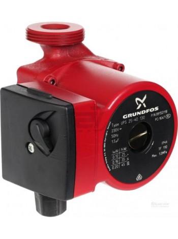 Циркуляционный насос для отопления Grundfos UPS 25/60-130 Оригинал