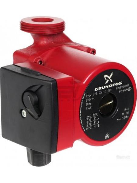 Циркуляционный насос для отопления Grundfos UPS 25/40-130 Оригинал