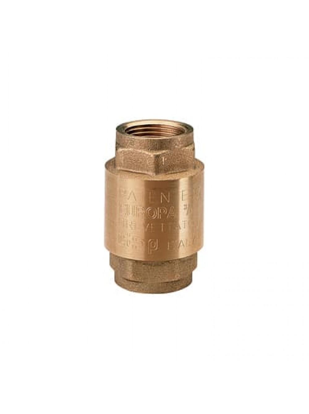 """Обратный клапан для насоса 1"""" внутренняя резьба италия Itap цена"""