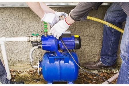 Как подключить водяной насос?