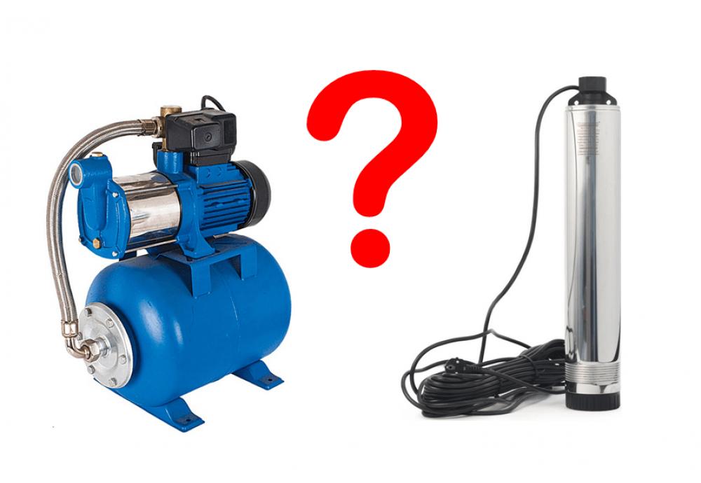 Какой насос выбрать - поверхностный или погружной?