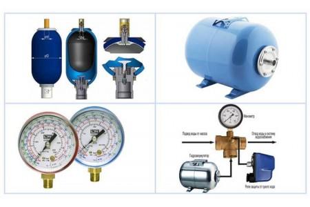 Устройство и принцип работы гидроаккумулятора